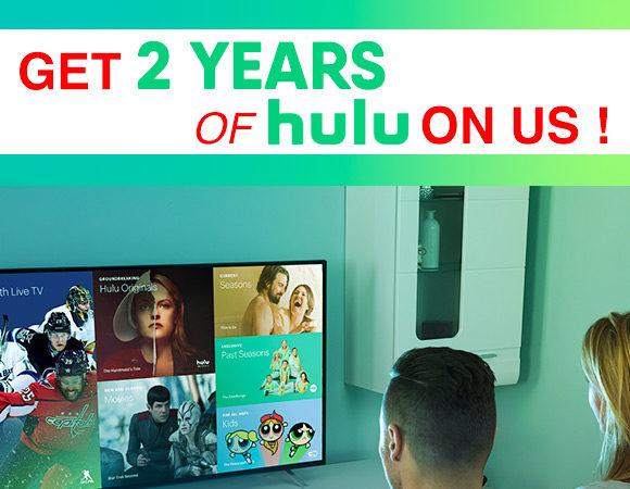 2 Years Of Free Hulu