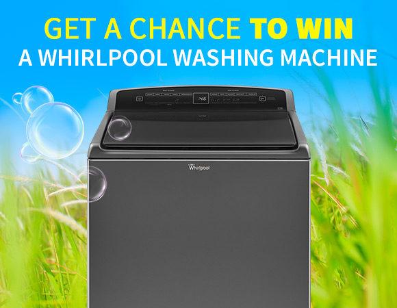 Get a chance to win a Washing Machine