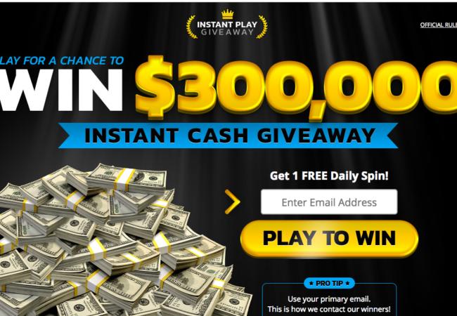 Win $300,000