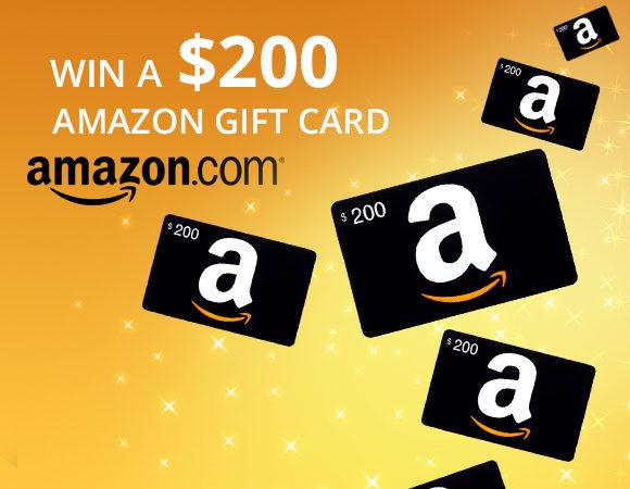 Win a $200 gift card